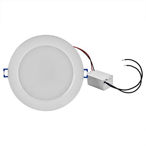 Lampada a pannello RGB LED, 5/10 W, dimmerabile, 16 colori che cambiano, da incasso nel soffitto, lampadina con telecomando 10 W.