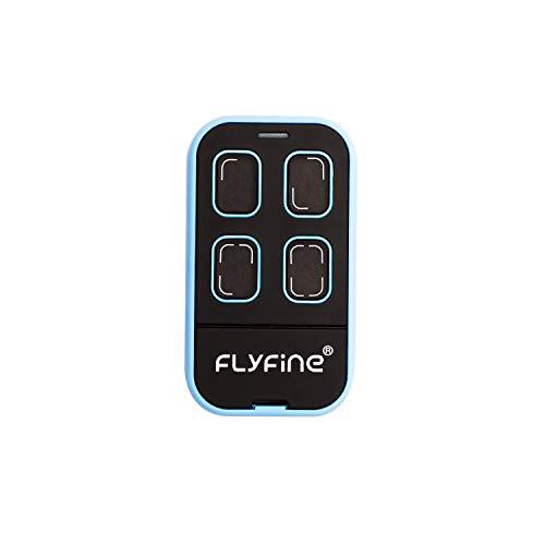 F Fityle Cl/é T/él/écommande m/étallque Universel Douvre-Porte 868 MHz pour Porte de Garage /Électrique Porte Rouleau Obturateur