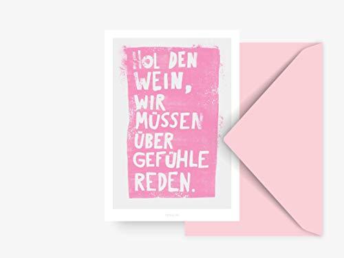 Postkarte/Hol Den Wein