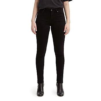 Levi s Women s 711 Skinny Jeans Soft Black 28W x 30L