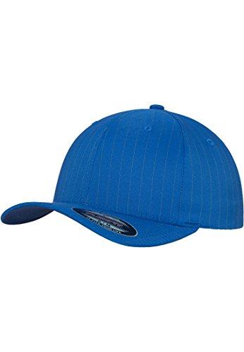 MasterDis Flexfit Pinstripe casquette de baseball Turquoise/or L/XL