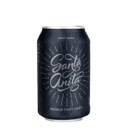 Barcelona Beer Company - Santa Rita 'Premium Lager' (Cerveza Artesana) Formato Lata - 1 x 330ml