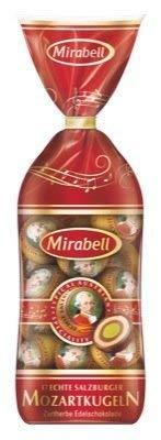 Mirabell 290 g Mozartkugeln – fijne zure chocolade