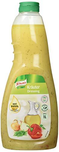 Knorr Kräuter Dressing (klares Salatdressing mit Dill und Petersilie) 3er Pack (3 x 1L)