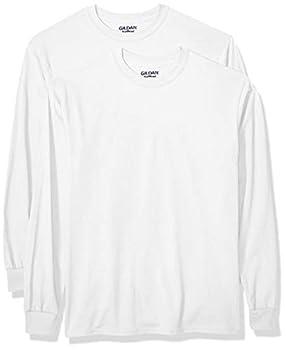 Gildan Men s DryBlend Long Sleeve T-Shirt Style G8400 2-Pack White 2X-Large