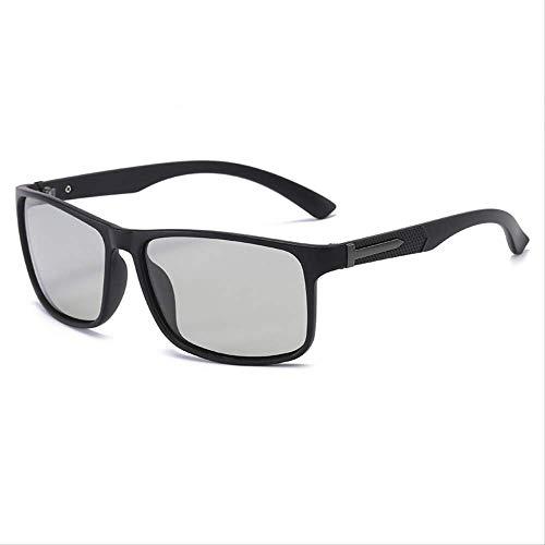 Gafas de sol Gafas de sol Polare hombres cambio de color al aire libre conducción pesca arena marco negro cambio de color