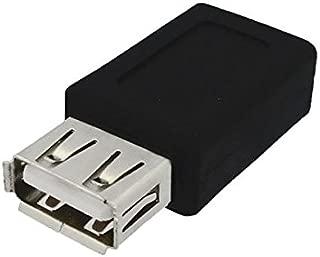 3Aカンパニー USB2.0 A(メス)-microUSB(メス)変換中継プラグ USB変換アダプタ UAD-JAMCB