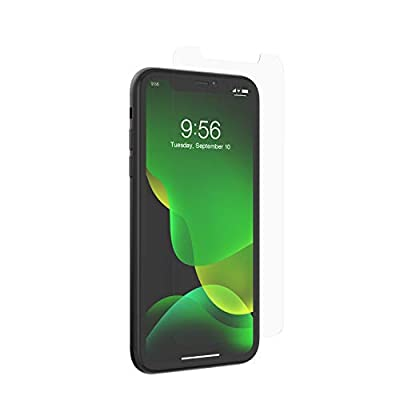ZAGG InvisibleShield Glass+ Screen Protector – High-definition Tempered Glass Made for Apple Iphone 11 – Impact & Scratch Protection from ZAGG