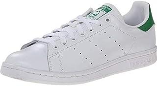Men's Stan Smith Sneaker, White/White/Green, 21
