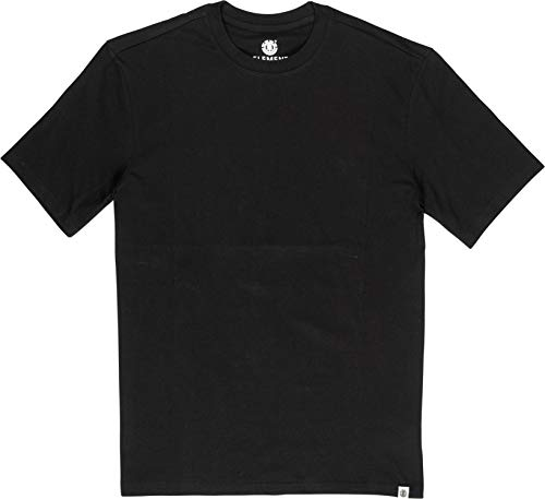 Element Herren Basic-T-Shirt, Flint Black, L