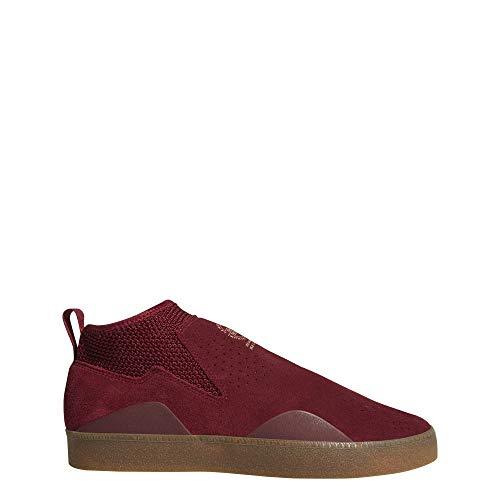 Adidas 3St.002, Zapatillas de Skateboarding Hombre, Rojo (Buruni/Buruni/Gum4 000), 44 EU
