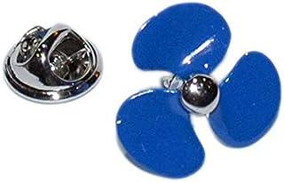 Gemelolandia   Pin de Solapa Hélice Azul   Pines Originales Para Regalar   Para las Camisas, la Ropa o para tu Mochila   D...
