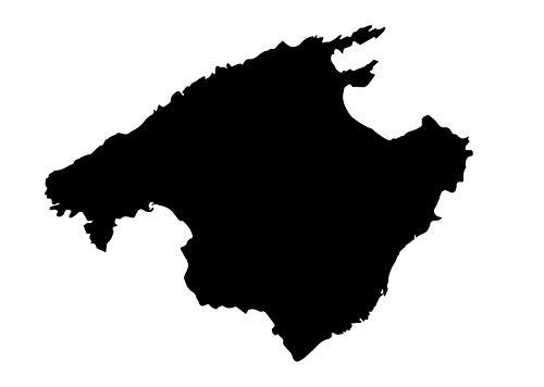 Premium Autoaufkleber Mallorca Aufkleber Auto Sticker Waschanlagenfest Witterungs- und UV-beständig