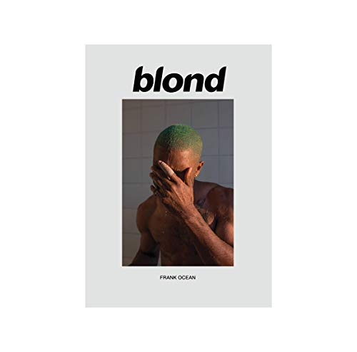 Inked and Screened Frank Ocean Poster Blond...