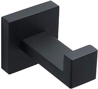 Alise GS7025-B Towel Hook Bathroom Single Robe Hook Wall Mount,SUS304 Stainless Steel Matte Black