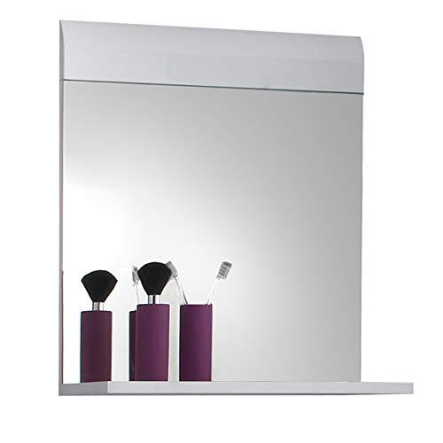 Maisonnerie 1116-401-01 Skin Miroir Meuble Salle de Bain Blanc Ultrabrillant LxHxP 60 x 55 x 10 cm