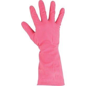 Winware huishoudhandschoen (natuur latex handschoenen, lichter, maar bescherming. Kan worden gebruikt voor de vaatwasser, voedselbereiding en verwerking).