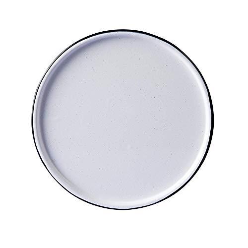Set De Charola Para Hornear De Peltre 28 Cm, 6 piezas (Blanco)