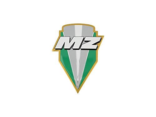 FEZ Plakette - MZ-Logo, aus Aluminium