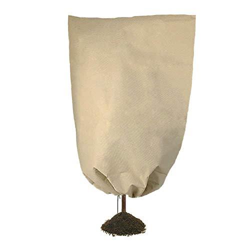 ZKDY Hiver Cordon De Plante Sapling Gel Froid Protection Couverture Couvercle Léger Durable Non-Tissé Housse De Couverture D'Usine-100X160Cm Blanc