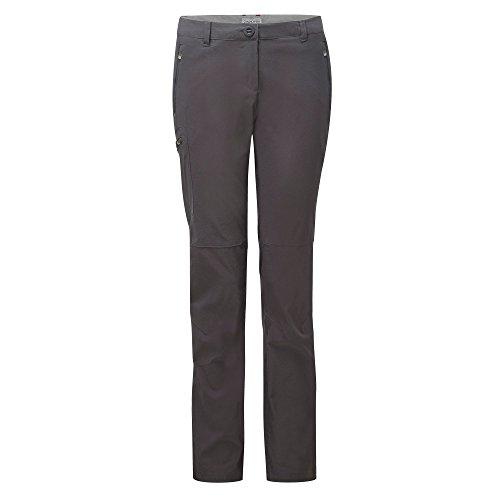 Craghoppers Dames NosiLife Pro Pantalon Charcoal 16 Regular Leg