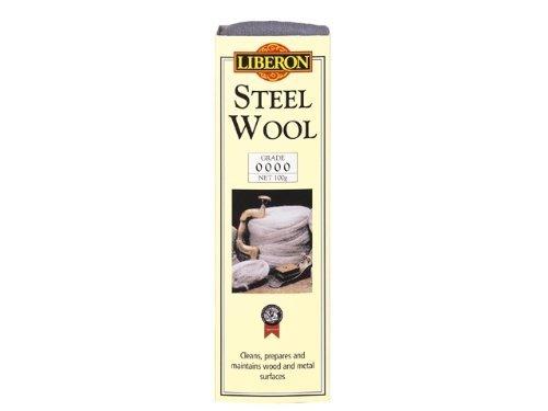 Liberon 250G 0000 Ultra Fine Grade Steel Wire Wool