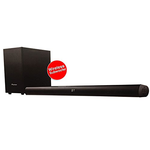 Pioneer SBX-101 Wireless Sounbar Black with sub woofer with Two Year Warranty