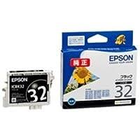 (業務用4セット) EPSON エプソン インクカートリッジ 純正 【ICBK32】 ブラック(黒) ds-1461794