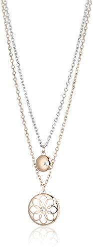 Tommy Hilfiger Casual Core Damen Halskette Edelstahl Rosévergoldet 49,5 cm