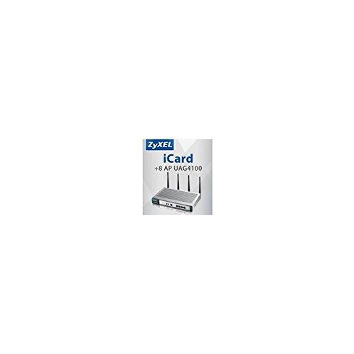 ZYXEL Lizenz E-iCard 8 AP UAG 4100 - Erweiterungslizenz von 8 APs auf 16 APs fuer UAG 4100 Bereich WLAN Controller