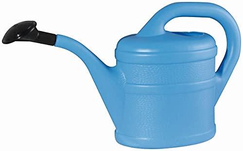 Regadera de plástico (2 L), color azul claro