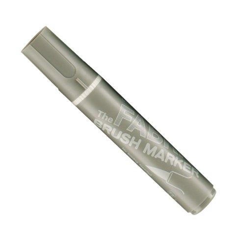 Uchida 722-C-12 Marvy Fabric Brush Point Marker, Warm Gray