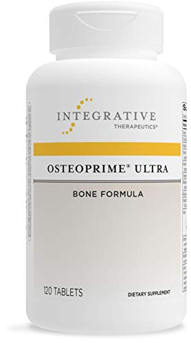 Integrative Therapeutics OsteoPrime Ultra - Comprehensive Bone Health Formula - Supplement to Support Calcium Absorption* - with Vitamin C, Magnesium, Zinc and Niacin - Dairy Free - 120 Tablets
