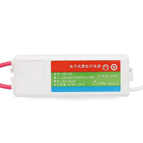 WFSH 5-2 5W 3KV 3 0mA de Carga de neón Letrero de alimentación plástico neón electrónico Transformador electrónico