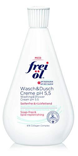 frei öl Wasch&DuschCreme pH 5,5, 1er Pack (1 x 500 ml)
