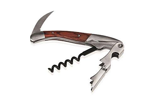 Kellnermesser mit Holzgriff / Länge: 12 oder 11 cm (A2 - Länge: 11 cm)