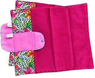 折り畳みタイプ2枚セット 南インド「Eco Femme」布ナプキン 洗えるオーガニックコットン(肌面色付き)