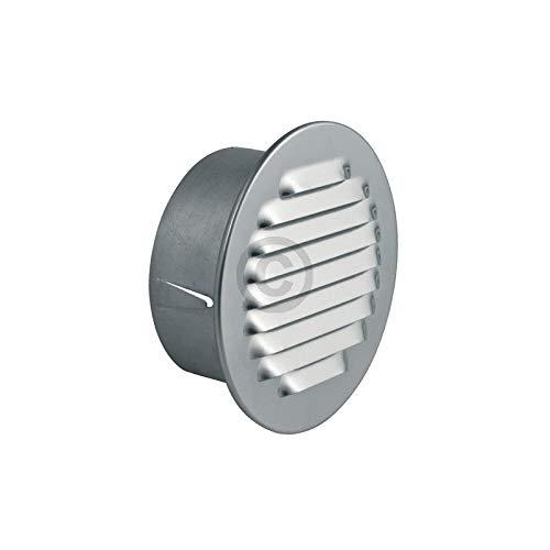 LUTH Premium Profi Parts Universele ventilatierooster 100erR metaal met insectenvangnet voor luchtkanalen droger afzuigkap