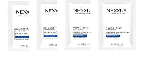 Nexxus New York Salon Care Humectress Ultimate Moisture Protein Complex Intensely Hydrating Masque 1.5 oz(pack of 4)