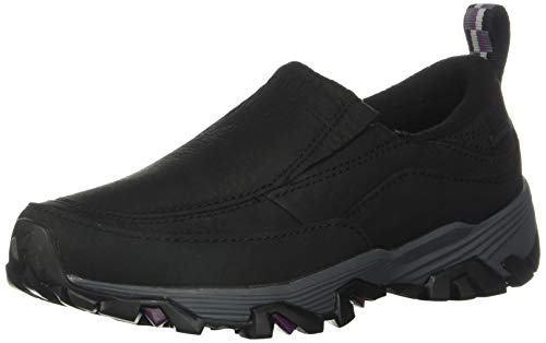 Merrell Women's COLDPACK ICE+ MOC WP Clog, Black, 9