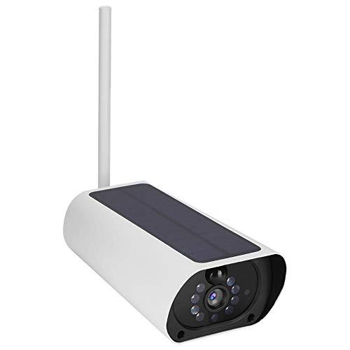 Garsent Outdoor zonne-energie batterij werkende bewakingscamera WiFi 1080P Zonne-aangedreven IP-camera Outdoor waterdichte CCTV nachtzicht-bewakingscamera die TF-kaart 4GB-128GB ondersteunt