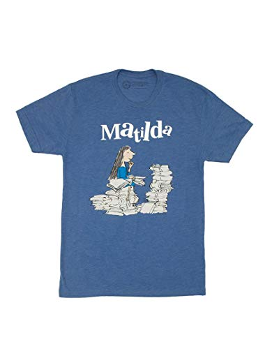 Camiseta Unissex Clássica Infantil Out of Print, Matilda, Medium