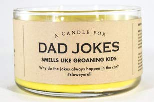 Whiskey River Candle (Dad Jokes)