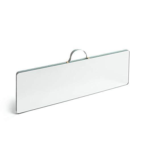HAY Ruban Wandspiegel, MDF, Grün, 1 x 43,5 x 13,5 cm