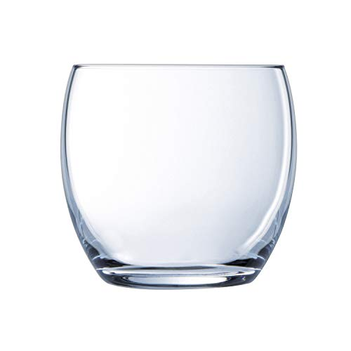 LUMINARC 6 gobelets Bas 35 cl-Versailles, Glass, Transparent