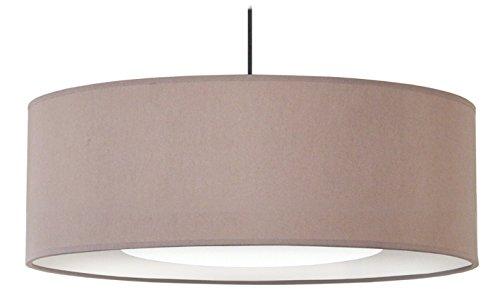 Tosel 14888 Alfena 600 D D, Tissu/Coton/PVC, Taupe/Blanc, 600 x 900 mm