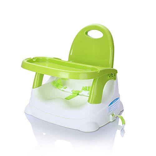 WWW-DENG barkruk baby-kinderstoelen eettafel stoelen eten instelbare beweegbare huisdining stoel (kleur: rood Maat: korte voet) barkruk