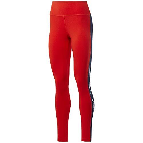 Reebok Te Linear Logo CT Legging Leggings Donna Inred XL