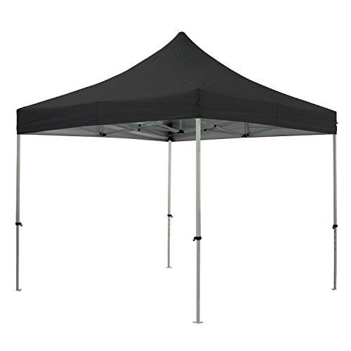 greaden Tent klaptafel zwart 3 x 3 m Premium Light – tube 32 mm uit – BÃ C 420D – barnum inklapbaar – gr-1fa33420ao2