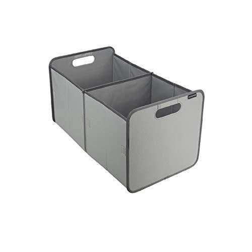 Meyliving Faltbox XL Grau 60x35x33,5cm abwischbar Polyester Einkauf Verstauen Abstellraum Schrank